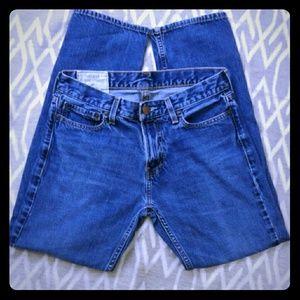 👖Hollister Straight jeans, EUC! Sz 30x30